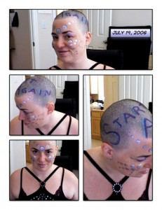 GlitterGirl Bald: Start Again